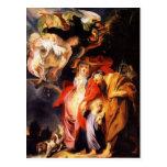 Jacob Jordaens- Return from Egypt of Holy Family Postcards
