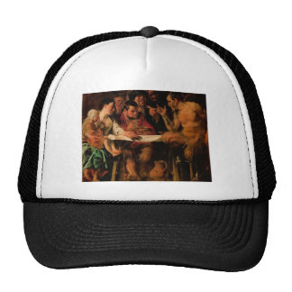 Jacob Jordaens- Satyr and Peasant Trucker Hats