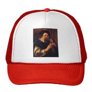 Jacob Jordaens- Self-Portrait as a Bagpipe Player Trucker Hat