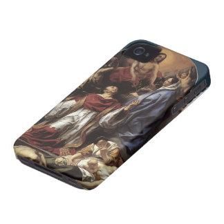 Jacob Jordaens- St. Charles Cares Plague Victims iPhone 4 Cases
