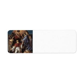 Jacob Jordaens- St. Charles Cares Plague Victims Return Address Label