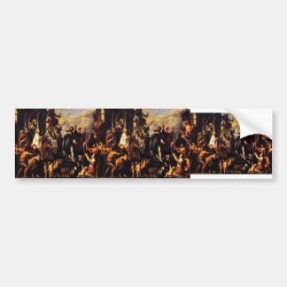 Jacob Jordaens-The Apostles St Paul St Barnabas Bumper Sticker
