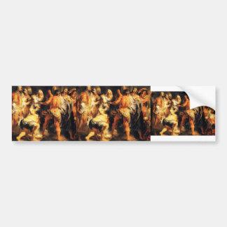 Jacob Jordaens-The Apostles St Paul St Barnabas Bumper Stickers