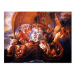 Jacob Jordaens- The Holy Family in a boat Post Cards