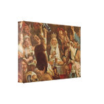 Jacob Jordaens - The King Drinks Gallery Wrap Canvas