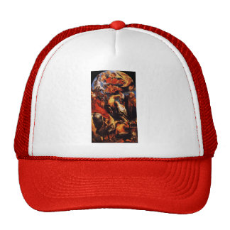 Jacob Jordaens- The Martyrdom of St. Apollonia Trucker Hat