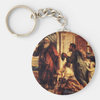 Jacob Jordaens- Usury is a great evil Key Chain