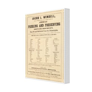 Jacob L Wendell Gallery Wrap Canvas