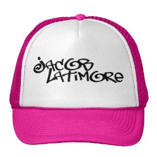 Jacob Latimore Signature Logo Pink Trucker Hat