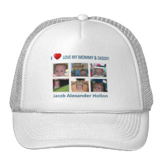 JACOB LOVES HIS MOMMY & DADDY Hat