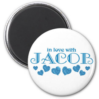 Jacob 2 Inch Round Magnet