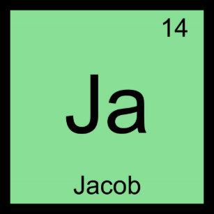 Jacob name keychains zazzle jacob name chemistry element periodic table keychain urtaz Image collections