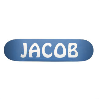 JACOB Personalized Custom Skate Board