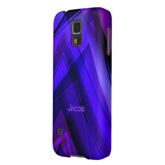 Jacob Purple and Blue Galaxy s5 case