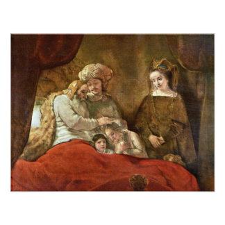 Jacob que bendice a los hijos de José Comunicados Personales