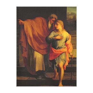 Jacob que envía a su hijo, José Lona Envuelta Para Galerias