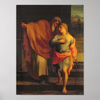 Jacob que envía a su hijo, José Impresiones