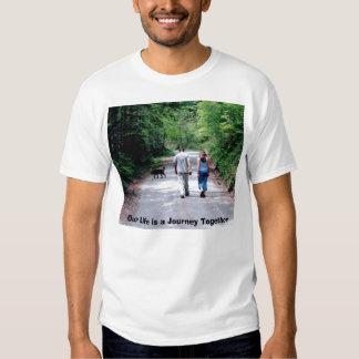 Jacob&Rachel_walking, Our Life is a Journey Tog... T Shirt