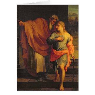 Jacob Sending his Son, Joseph Card