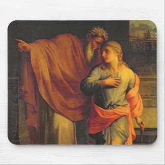 Jacob Sending his Son, Joseph Mouse Pad
