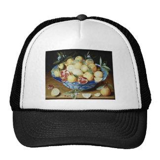 Jacob van Hulsdonck - Still life with lemons orang Trucker Hat