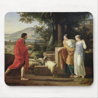 Jacob with the Daughters of Laban, 1787 Mouse Pad