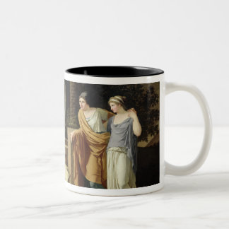 Jacob with the Daughters of Laban, 1787 Two-Tone Coffee Mug