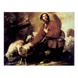 Jacob with the Flock of Laban by Jusepe de Ribera Postcard