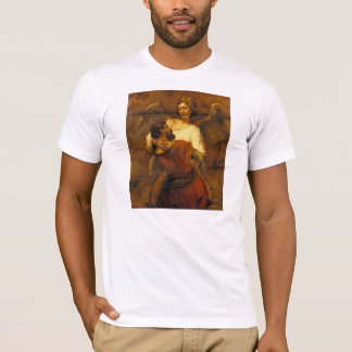 Jacob Wrestling with the Angel by Rembrandt T-Shirt