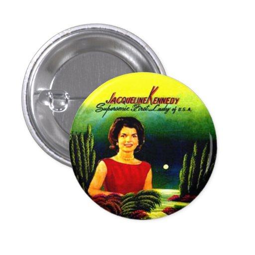 Jacoba - botón pin redondo de 1 pulgada