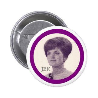 Jacoba Bouvier Kennedy Pin Redondo De 2 Pulgadas