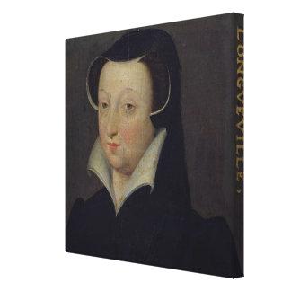 Jacoba de Rohan Duchesse de Longueville Lona Envuelta Para Galerías
