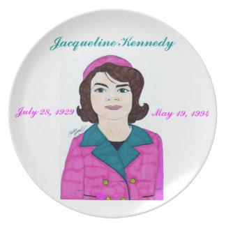 Jacoba Kennedy - placa Plato Para Fiesta
