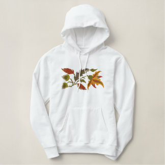 Jacobean Autumn Embroidered Hoodie