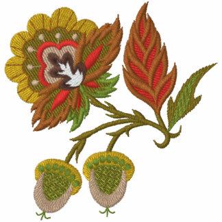 Jacobean Autumn Embroidered Hoodie