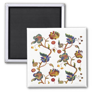 Jacobean Embroidered Albemarle Pattern Magnet