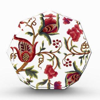 Jacobean Embroidery Acrylic Award
