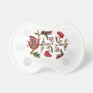 Jacobean Embroidery Pacifier