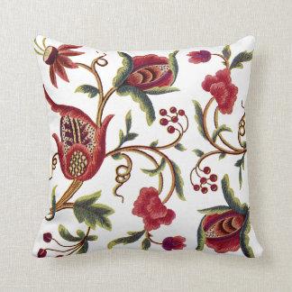 Jacobean Embroidery Pillow
