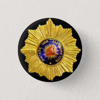 jacobin club badge pinback button
