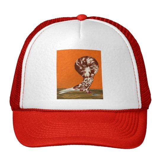 Jacobin Red Splash Trucker Hat