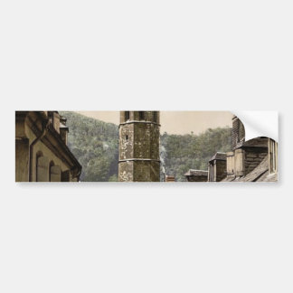 Jacobin tower, Bagneres de Bigorra (i.e., Bagn�res Bumper Sticker