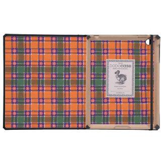 Jacobite clan Plaid Scottish tartan iPad Folio Case