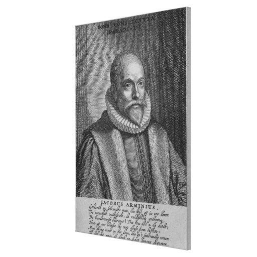 Jacobo Arminius Impresion De Lienzo