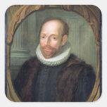 Jacobo Arminius, profesor de la teología Pegatina Cuadrada
