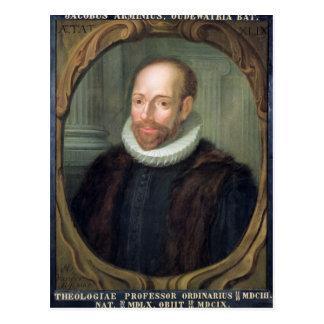 Jacobo Arminius, profesor de la teología Postal