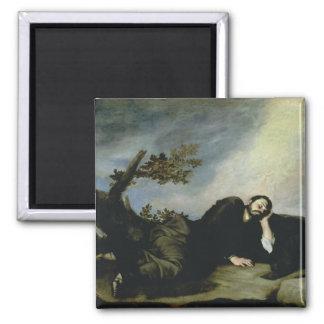Jacob's Dream, 1639 2 Inch Square Magnet
