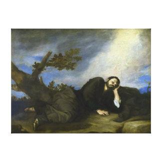 Jacob's Dream by José de Ribera Canvas Print