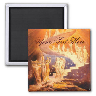 Jacob's Dream By William Blake Magnet