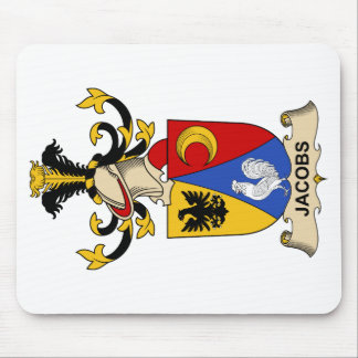Jacobs Family Crest Mousepad